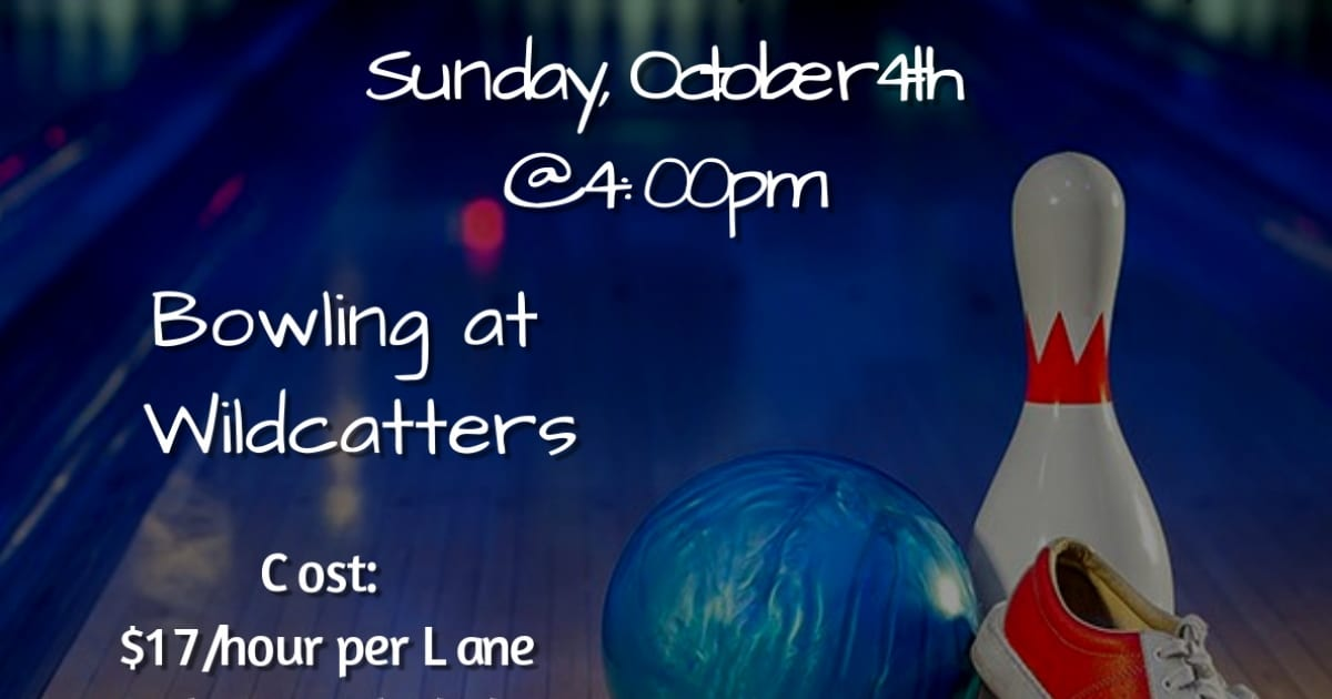 Family Fun Day Bowling at Wildcatter's