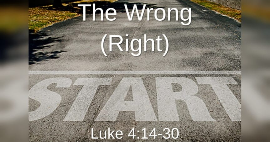 The Wrong Right Start