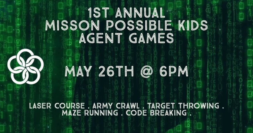 1st Annual Mission Possible Kids Agent Games
