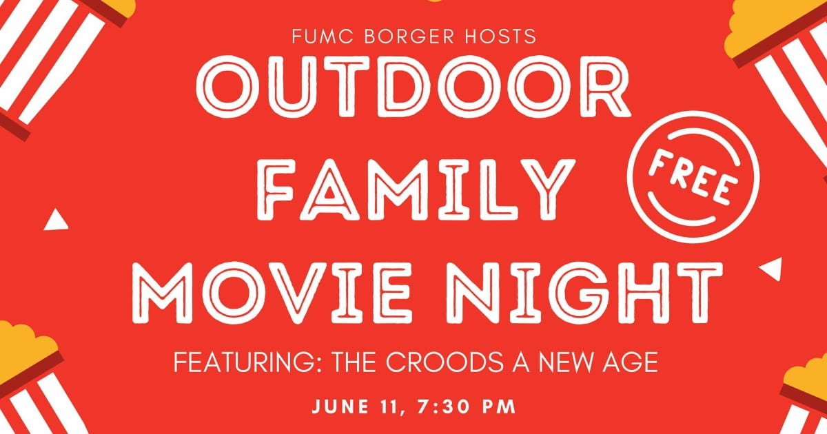 """Featured image for """"Outdoor Family Movie Night: June 11, 2021"""""""
